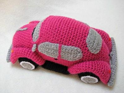 Volkswagen Beetle Amigurumi Crochet Pattern