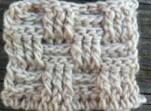 basket weave crochet stitch