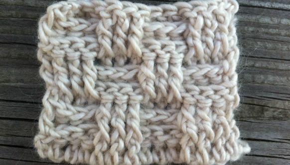 Basket Weave Crochet Stitch Tutorial Free Crochet News