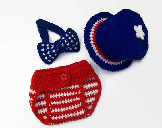 crochet 4th of july