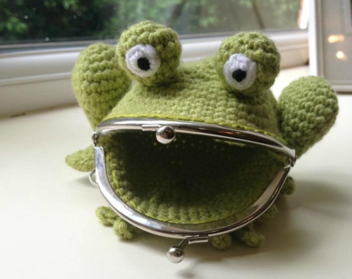Frog Coin Purse