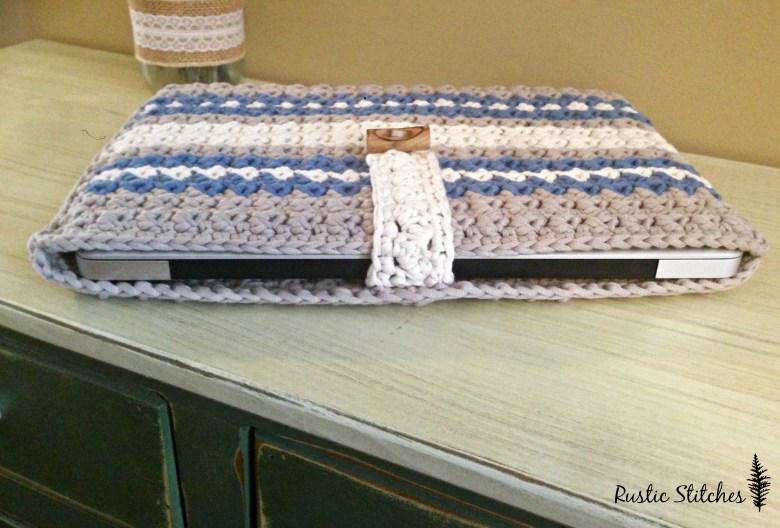 Laptop Bag Crochet Pattern