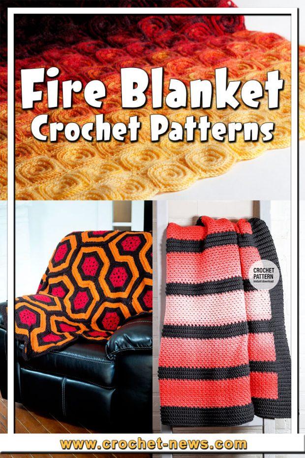 FIRE BLANKET CROCHET PATTERNS