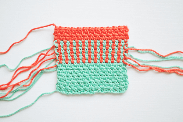 Woven Decorative Crochet Stitch Tutorial