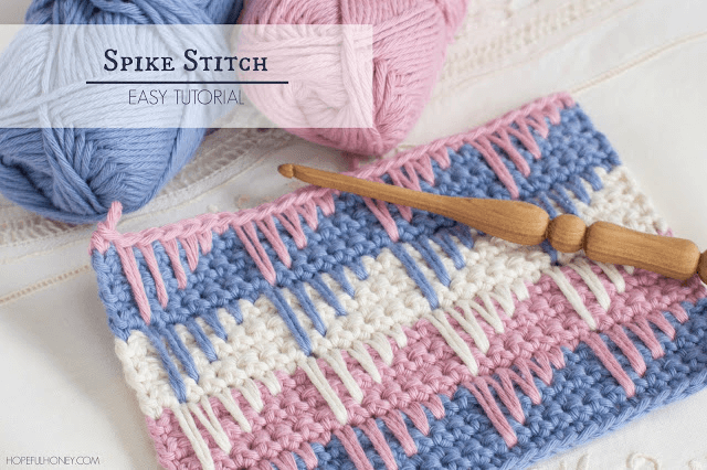How To Crochet The Spike Stitch