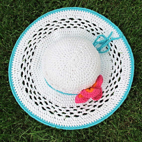 Crochet Sun Hat Pattern