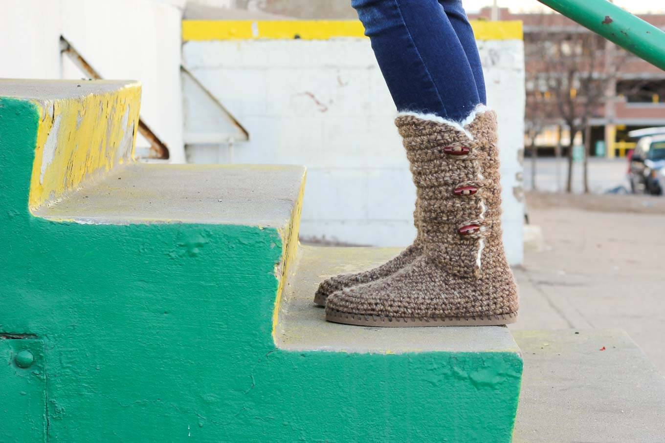Crochet Boots Ladies Pattern