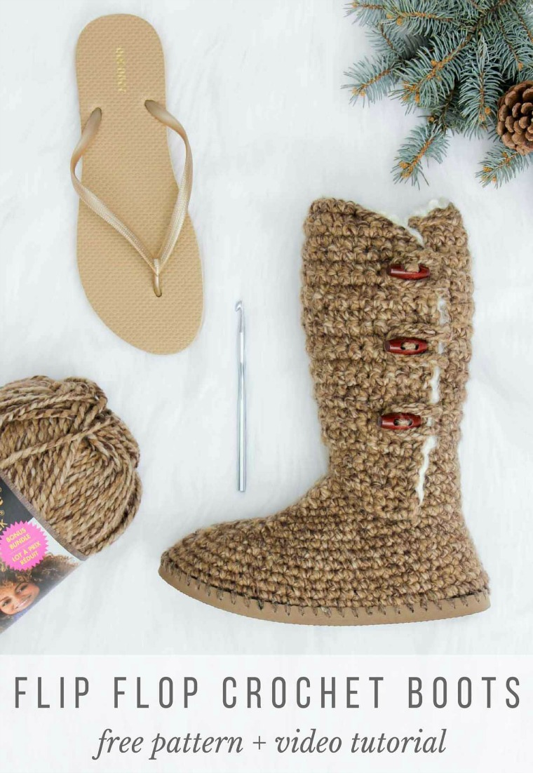 Crochet Boots Ladies Pattern - Get The Free Pattern And Video