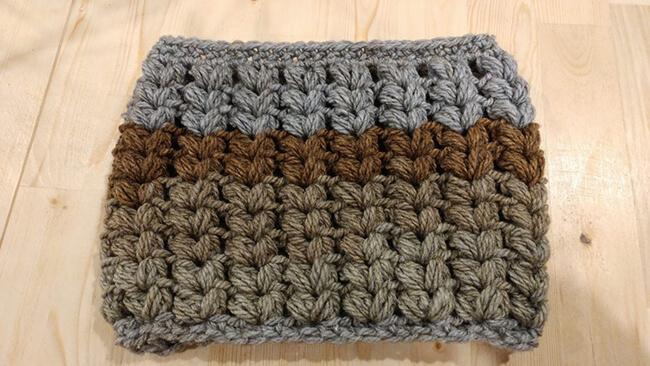 Video: How to Crochet the Knit Stitch (Waistcoat Stitch) | 366x650