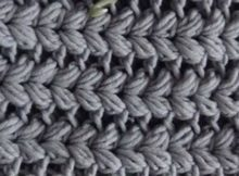 V Puff Crochet Stitch