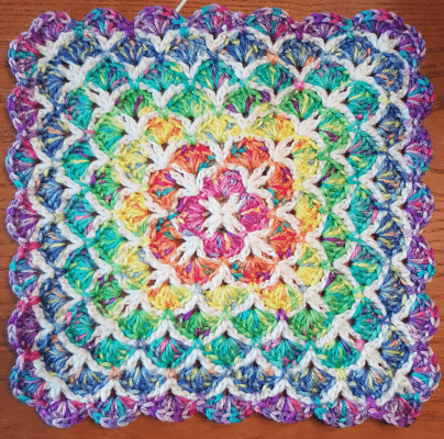 Crochet Shell Stitch Blanket Pattern Crochet News