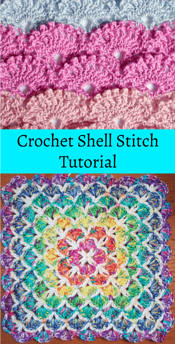 Crochet Shell Stitch Free Written Pattern And Video Tutorial