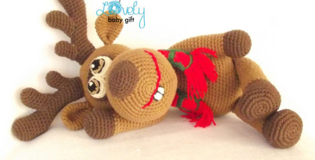 Christmas Crochet - A Must Have Reindeer Amigurumi For This Christmas