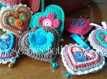 Crochet Valentine Heart Pattern Free Tutorial