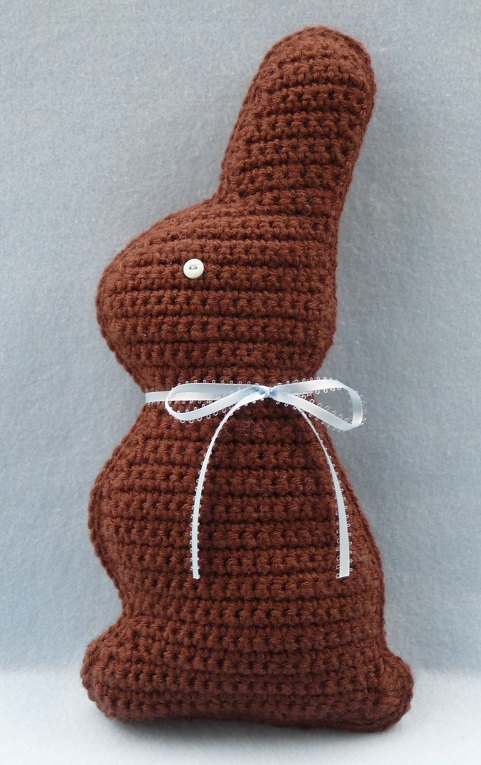 Crochet Easter Bunny Pattern Chocolate Bunny Crochet News