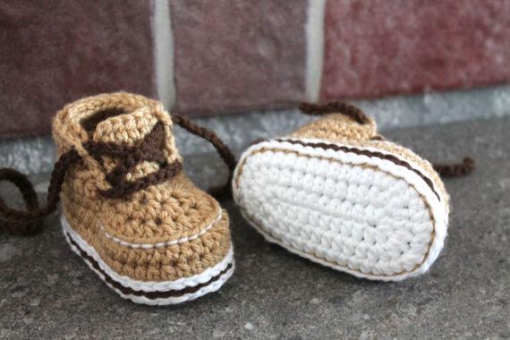 Baby Booties Crochet Pattern