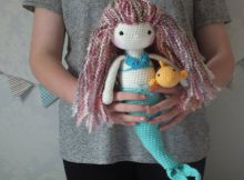 Crochet Mermaid Doll Pattern Tutorial