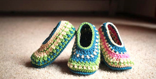 Easy Crochet Slipper Patterns For Beginners