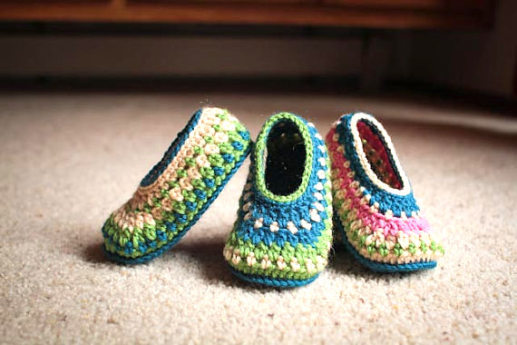 galilee slippers free pattern