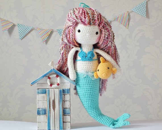 Amigurumi Crochet Mermaid Doll Pattern Tutorial Crochet News