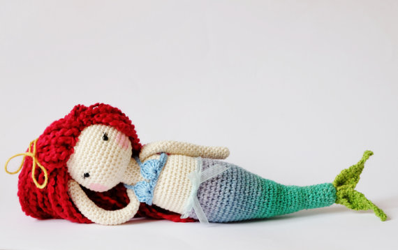 Amigurumi Mermaid Doll Pattern Tutorial