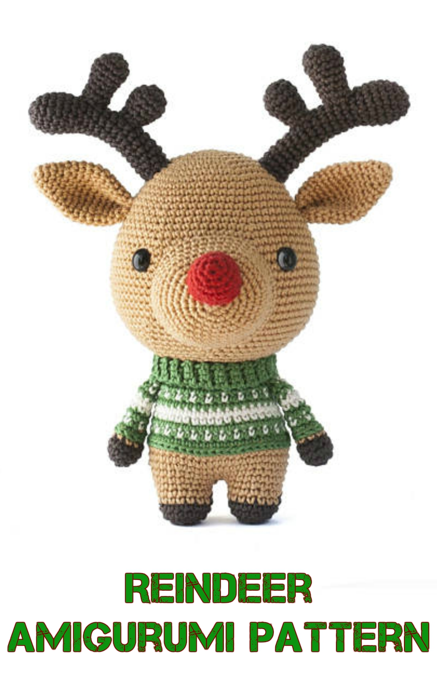 Amigurumi Reindeers Free Crochet Patterns | Crochet xmas, Holiday ... | 1400x900