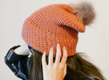 crochet waistcoat stitch beanie