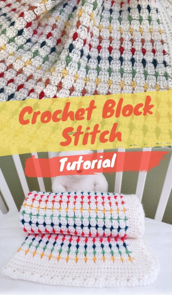 Free Crochet Block Stitch Tutorial