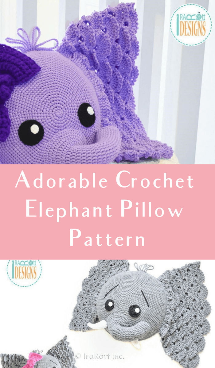 Adorable Elephant (Free Crochet Pattern) – One Zero Crochet | 1200x700