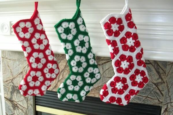 12-Crochet-African-Flower-Christmas-Stocking-Pattern-Holiday-Imaginations