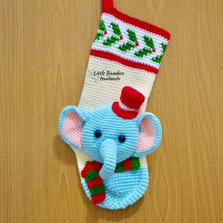 21-Elephant-Christmas-Stocking-Crochet-Pattern-Little-Bamboo-Handmade