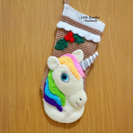 23-Unicorn-Christmas-Stocking-Crochet-Pattern-Little-Bamboo-Handmade
