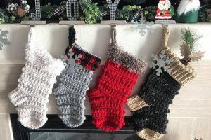 37-Free Crochet-Christmas-Holiday-Sock-Pattern-Knitty-Momma