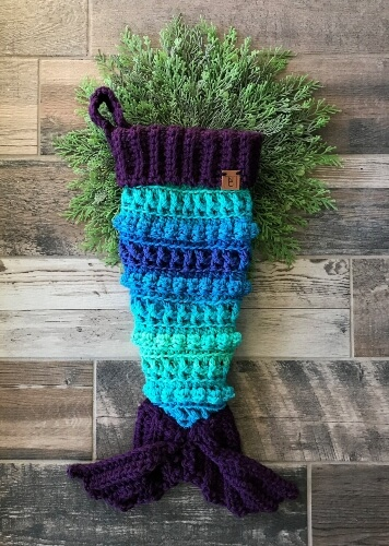4-Mermaid-Christmas-Crochet-Stocking-Pattern-Nellas-Cottage