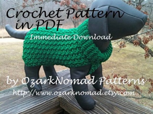 CROCHET PATTERN FOR LITTLE DOGS BY OZARKNOMAD