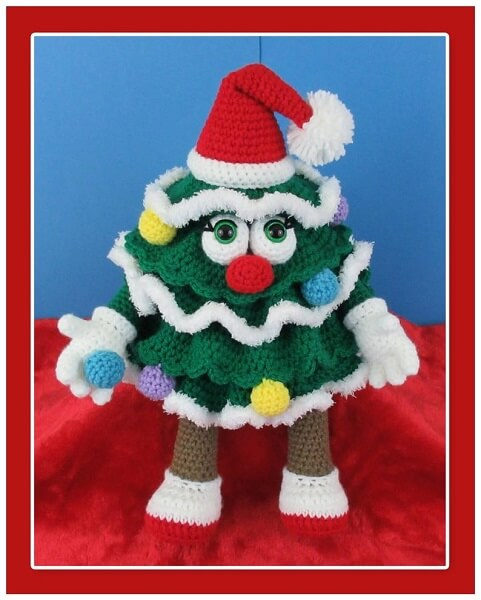 Christmas Tree Crochet Pattern Doll