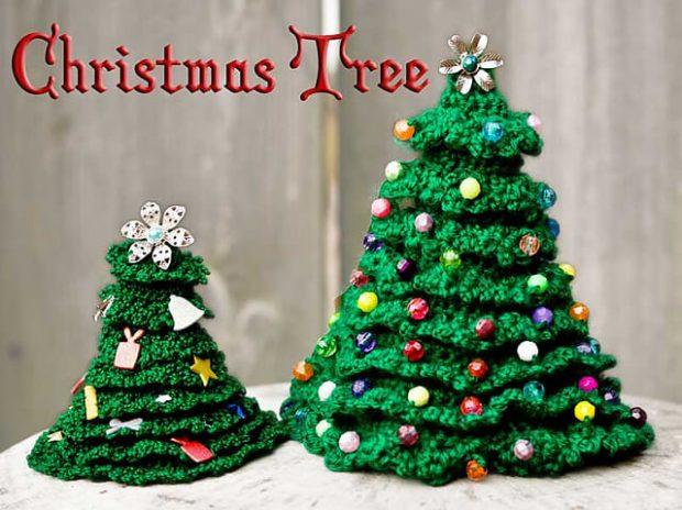 Crochet Christmas Tree pattern by Helen Free