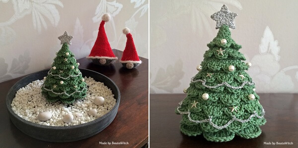 Crocheted Christmas Tree by BautaWitch