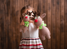 Crochet pattern Rudolf the Reindeer by MommyPatterns