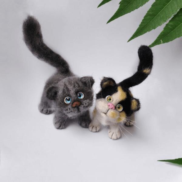Amigurumi Sleeping Cats | Crochet cat pattern, Crochet baby toys ... | 600x600