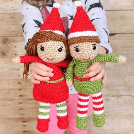 Elf Amigurumi Free Crochet Pattern by Loops And Love