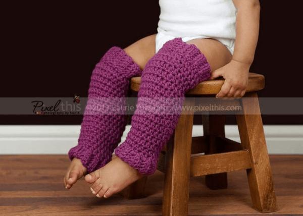 Baby Crochet Leg Warmers Pattern by Salena Baca Patterns