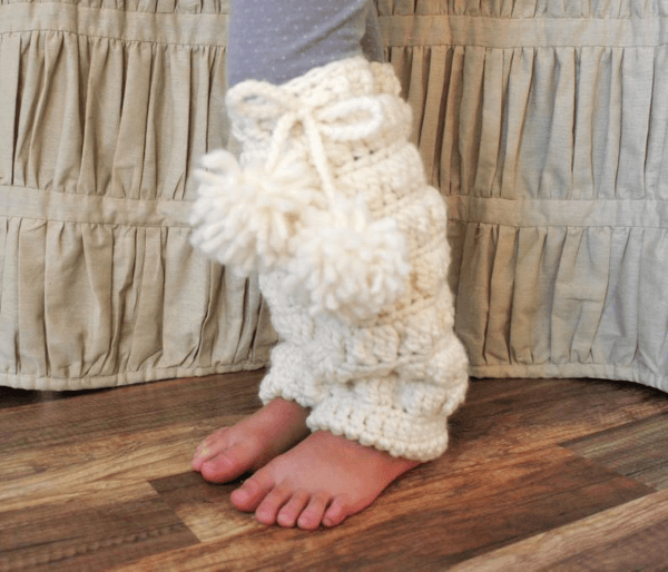 Bianca Crochet Leg Warmers Pattern by Naturally Nora Crochet