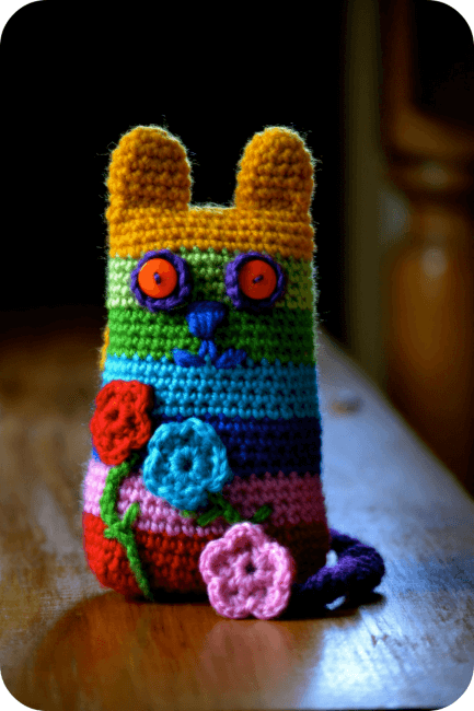 Caity Cat Crochet Pattern by The Green Dragonfly 1