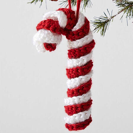 Christmas Crochet Candy Cane Pattern