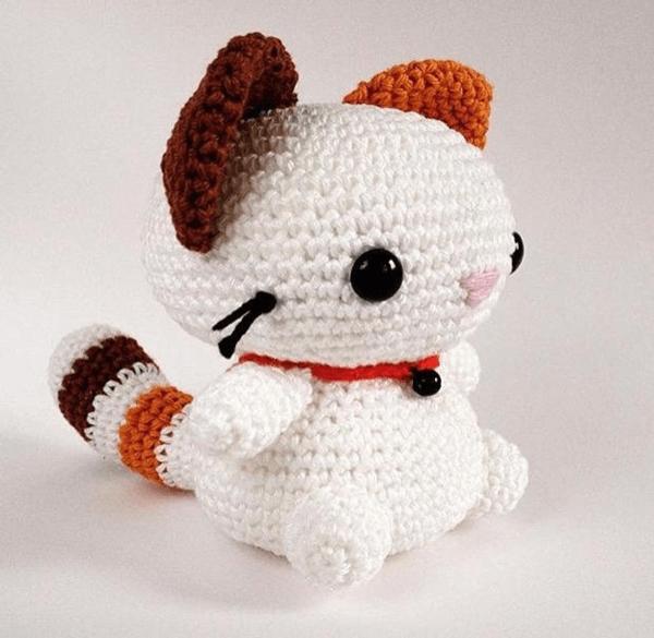 Coconut Crochet Cat Pattern by CuteCrochetNL