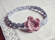 Crochet Headband Accessories Pattern Flower