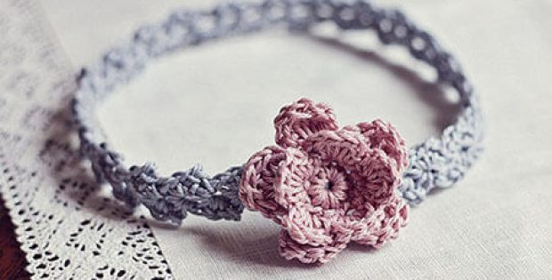 Crochet Headband Accessories Pattern Flower