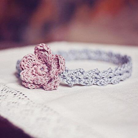 Crochet Headband Accessories Pattern
