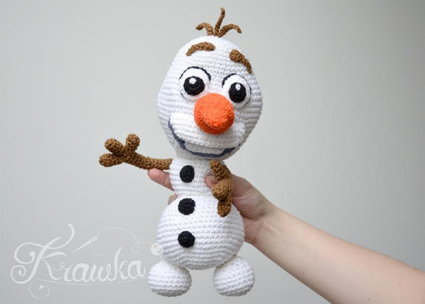 Frozen: Olaf Crochet Pattern